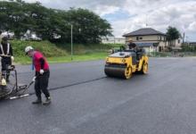 舗装工事 区画線設置工事